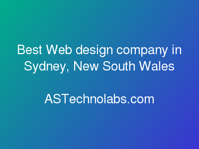 Best Web design company in Sydney, New South Wales | Best Web design