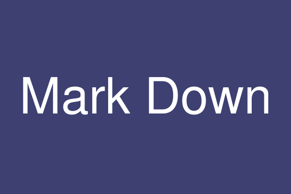 Mark Down