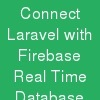 Connect Laravel with Firebase Real Time Database