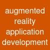 augmented reality application development