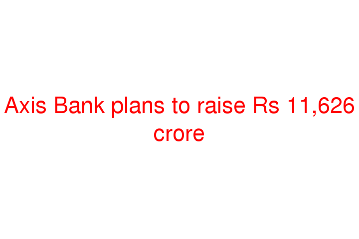 axis bank future plans