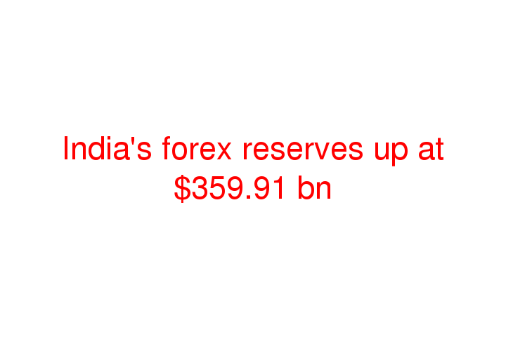 Forex reserve of india include
